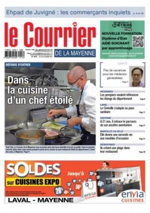 Dernière Une Le Courrier de la Mayenne