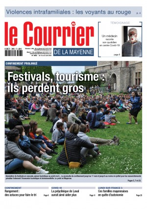 Confinement prolongé : festivals, tourisme : ils perdent gross